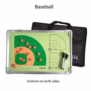 ABCCS Commande réinscriptible de compétition d'athlète de Conseil d'entraînement de Tactique magnétique de Base-Ball de Double-Face