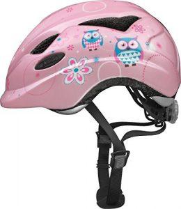 ABUS Anuky Casque Vélo Enfant Rose Owl Taille M 52-57 cm