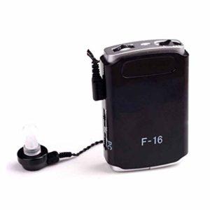 Amplificateur Sonore Personnel – Appareil d'amplification de Voix et,Appareil d'Assistance Sonore de Poche pour TV et Communication
