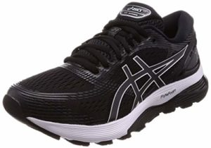 Asics Gel-Nimbus 21 1011a169-001, Chaussures de Running Homme, Noir (Black/Dark Grey 001), 46 EU