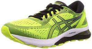 ASICS Gel-Nimbus 21, Chaussures de Running Homme, Jaune (Safety Yellow/Black 750), 41.5 EU