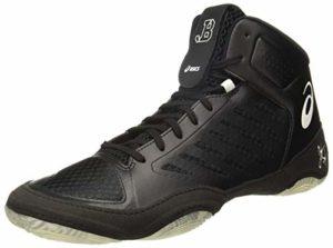 ASICS JB Elite III Chaussures de Boxe et de Lutte – Noir/Blanc – Taille: 37,5