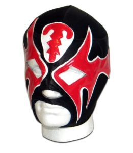 Atlantis noir rouge Masque catch mexicain adulte Lucha