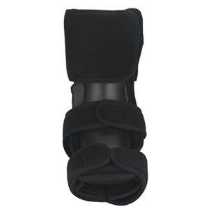 Attelle de nuit, Filfeel Foot Drop orthèse en aluminium attelle attelle fasciite plantaire fixe soutien cheville(L/XL)