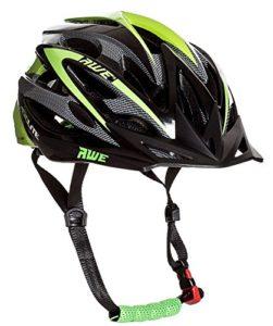 AWE® Aerolite™ Remplacement DE Crash Gratuit 5 Ans * Casque de vélo pour Homme Taille 58-61 cm Noir/Vert