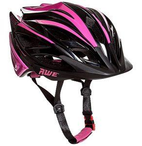 AWE Awebladetm gratuit 5 AN Crash de remplacement * en Moule pour femme adulte casque de vélo 55-58 cm Rose/noir