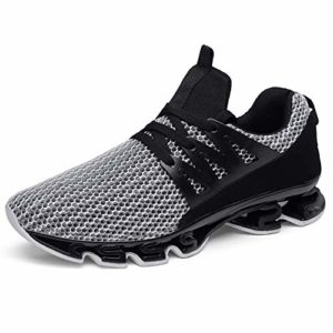 AYBOXIAO Chaussures de Sport de Plein air Hommes Antidérapant Absorbant Les Chocs Extérieure Casual Respirant Chaussures Hommes Printemps Léger Chaussures de Course – – Taille Unique