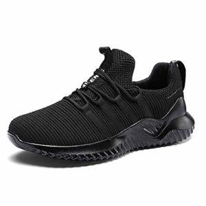 AYBOXIAO Hommes de Plein air Casual Chaussures de Plein air Résistant à l'usure Confortable Antidérapant Respirant Léger Chaussures de Course Casual Chaussures de Sport – – Taille Unique