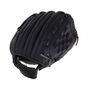 B Baosity Gant de Baseball de Main Gauche Protecteur Mains Rembourré Respirant de Baseball – Noir, S
