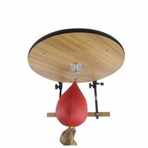 Balle de Vitesse Libre Fixé au Mur Cadre Fitness Boxe Plate-Forme Speedball Stand Suspension Plate-Forme Speedball Idéal Cadeau d'anniversaire pour Noël