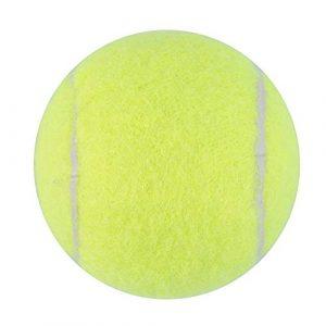 Balles de Tennis Vertes Tournoi de Sport Outdoor Fun Cricket Beach Dog Idéal pour la Pratique du Tennis de Cricket de Plage Durable à Utiliser – Vert