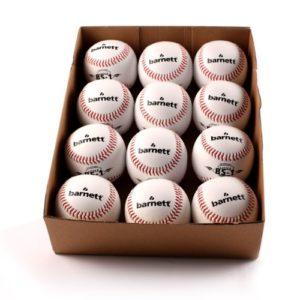 barnett BS-1 balle de baseball initiation, 9», blanc, 1 douzaine
