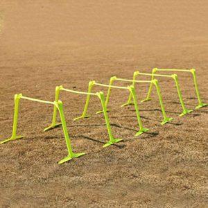 Barre de saut sensible de obstacle de PVC se pliant entraîneur réglable d'agilité de football de taille