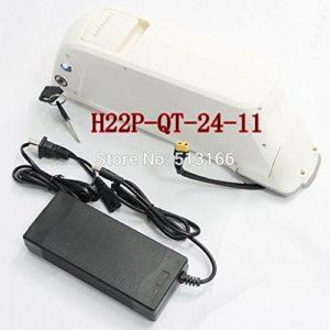 Batterie au Lithium-Cellule H22P-QT de 3.7V 2.2AH 10A 3C Cellule en Plastique Blanche Batterie au Lithium d'Ebike de 24V 11Ah