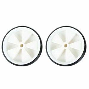 Bclaer72 – Vélo pour Enfant – 1 Paire de Roues Pratiques – Stabilisateurs de vélo – Assist Wheel Balance Training – Compatible avec Les vélos, Blanc.