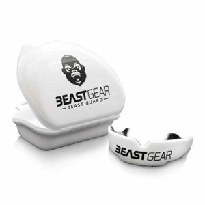 Beast Gear 'Beast Guard' Protège-dents / Gouttière Coque Dentaire Protege Dent – pour Boxe, MMA, Rugby, Muay Thai, Hockey, Judo, Karate, Arts Martiaux et Sports de Combat et Contact