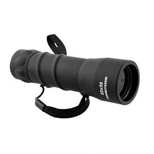 Beautyrain télescope unique Noir durable 22×32 9.8″ Simple HD haute Grossissement Taille de poche Monoculaire Télescope BaK7 1500M / 7500m monoculaires