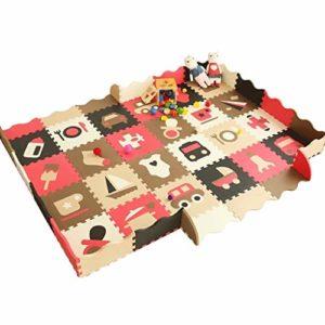 Bébé décoration chambre 36PCS bébé Enfants Alphanumeric Puzzle éducatif Tapis mousse blocs jouets cadeau Puzzle Ecouter Ecouter Mat Tapis de enfants Idéal pour les enfants pour apprendre et jouer