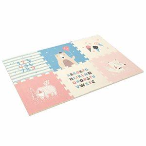 Bébé décoration Chambre 6 Pcs Enfants Mousse Tapis de Jeu Tapis de Jeu Gym Tapis bébé Enfant en Bas âge Tapis for Les Nourrissons Idéal pour Les Enfants pour Apprendre et Jouer (Color : Style – 3)