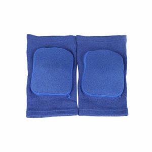 BESPORTBLE 2 Pcs Éponge Genou Bretelles De Protection Genou Support Wraps Épais Exercice Genou Gardes Sécurité Genou Protecteurs pour Basket-Ball Escalade Formation (Taille M Bleu)