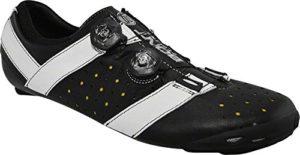 Bont Rennradschuhe Vaypor+, Chaussures de Vélo de Route Mixte Adulte, Schwarz-Weiss, 41 EU