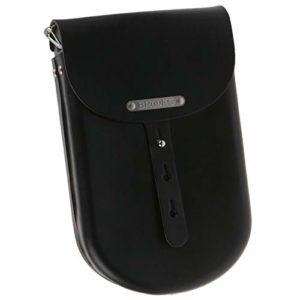 Brooks B2 Leder Fahrrad Tasche mittel / medium Leather Bag Schulter Umhänge, 800604, Farbe schwarz