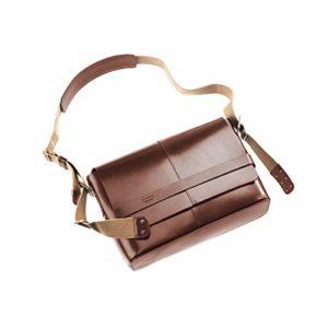 Brooks Barbican Hard Leather Shoulder Bag, Farbe braun