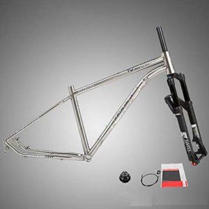 Cadre de course de vélo de vélo de route Cadre de montagne en alliage titanique avec système de suspension DT Fourche avant de catégorie compétition for fourche spéciale de qualité supérieure