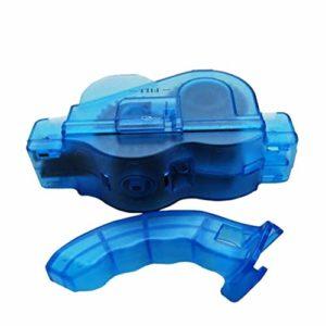 CamKpell Portable Vélo Chaîne Nettoyant Vélo Propre Machine Brosses Laveur Lavage Outil Montagne Vélo Kit De Nettoyage Sports de Plein Air – Bleu