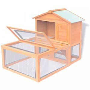 cangzhoushopping Cage pour Animaux Bois Articles pour Animaux Articles pour Animaux de Compagnie Accessoires pour Petits Animaux Abris et Cages pour Petits Animaux