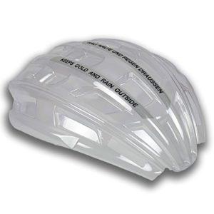 casco Allwetter-Cover Housse imperméable pour Casque de vélo S Transparent