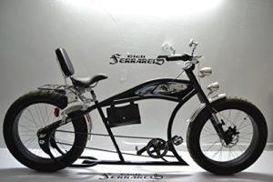 Cicli Ferrareis Cruiser Uomo 26 Custom Bike Nero
