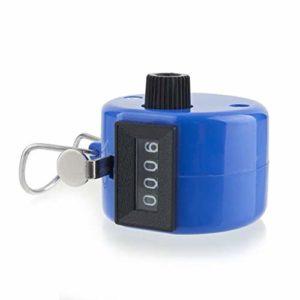 Compteur Tenu dans la Main portatif de Mini de Golf de comptoir de clic 4 Compteur mécanique numérique portatif de Nombre de Chrome dans Le Lancement de Golf