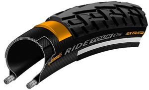 Continental Tour Ride Tyre 700 x 28mm, Black [Sports]