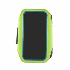 Course À Pied Résistant À l'eau Multi-Fonctionnel Téléphone Armband D'empreintes Digitales Déverrouiller Le Téléphone Sac De Sport Courir Armband Bras Paquet Sac 1pc 4.7inch Vert