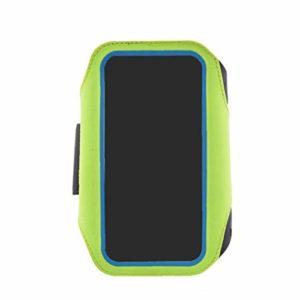 Course À Pied Résistant À l'eau Multi-Fonctionnel Téléphone Armband D'empreintes Digitales Déverrouiller Le Téléphone Sac De Sport Courir Armband Bras Paquet Sac 1pc 5.5inch Vert