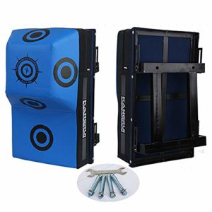 CX TEXH Coussin de Cible de Mur de Boxe Coussin de Formation d'arts Martiaux d'équipement de Formation de poinçon MMA – pour la Formation, la Pratique, la Vitesse de réaction, etc.