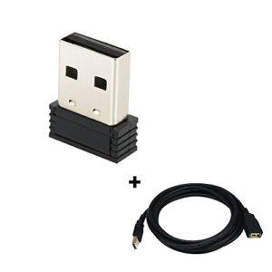 CYCPLUS Clé USB ANT+ un adaptateur pour transmission, Garmin, Sunnto, Tacx, Perfpro Studio, CycleOps, compatible avec Garmin Forerunner 310 X T 405 410 610 910 X T U2(Stick + 3m cable)
