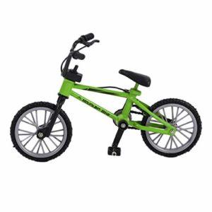 DFHJSXDFRGHXFGH-FR Mini Taille Simulation Alliage Finger Bike Enfants Enfant Funnt Mini Finger Bike Jouet avec Corde De Frein Cadeau d'anniversaire Vert DFHJS