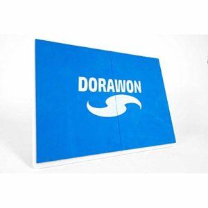 Dorawon, Planche de Rupture réutilisable 31.5×23.5×1,5 cm, Bleu