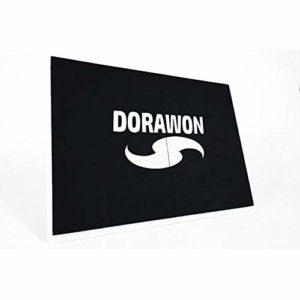 Dorawon, Planche de Rupture réutilisable 31.5×23.5×2 cm, Noir