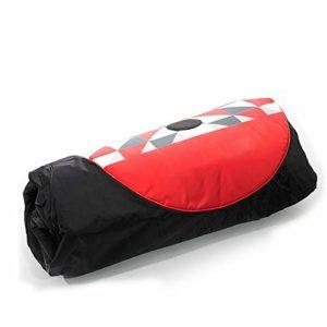 DorisAA Sacoche de Transport Case de Vue en extérieur Sac Pliable Sacoche Voyage vélo Pliant Sac Capacité 396L Dimensions 131x97x45CM (Couleur : Rouge, Taille : 131x97x45cm)