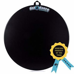 dot2dance PORTABLE Marley DANCE FLOOR (48) – Turnboard, Tap Board, & Beyond…It's your SAFE SPOT on a DOT! – Size 48″ diameter – Enorme
