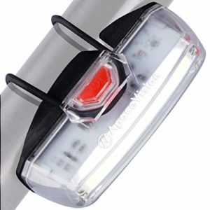 Eclairage Avant pour Velo Rechargeable USB par Apace – Feu Avant de Sécurité LED Vélo – Lampe Avant avec Lumière de 200 Lumens pour Une Visibilité Optimale à Vélo
