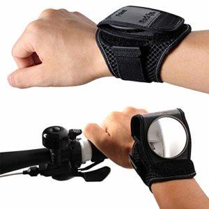 ETbotu Miroir pour vélo, sangle pour vélo, rétroviseur de vélo, sangle de rétroviseur portable respirante en tissu mesh