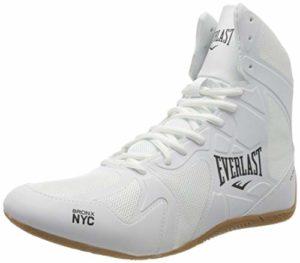 Everlast P00001078, Chaussures de Boxe Mixte Adulte, Blanc White, 43 EU
