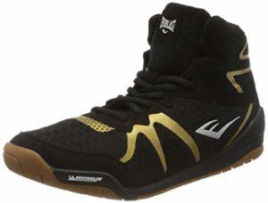 Everlast Pivt Low Top Shoe, Chaussures de Boxe Mixte Adulte, Noir Black/Gold, 45 EU