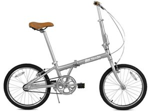 FabricBike Vélo Pliant, Cadre en Alliage, Mono-Vitesse, 3 Couleurs (Space Grey & Black)