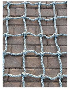 Filet D'escalade Enfant,Filet D'Escalade Corde Escalade pour Grimper Enfant Adulte Rope Ladder Nylon Cordes Hamac-Filet Mesh Filets Maille de Rangement Voiture Coffre Grand Bagage Auto Remorque Charge