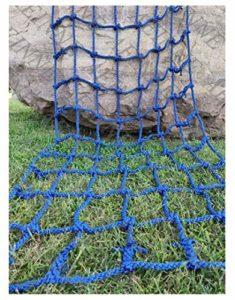 Filet Grimper,Filet Corde Grimper d'escalade Escalade Enfant Adulte Rope Ladder Nylon Cordes Hamac-Filet Mesh Filets Maille de Rangement Voiture Coffre Grand Bagage Remorque Chargement